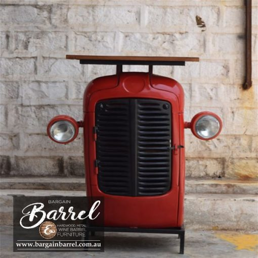Bargain Barrel Wine Barrel Furniture Sales – Tractor Cabinet Image 4