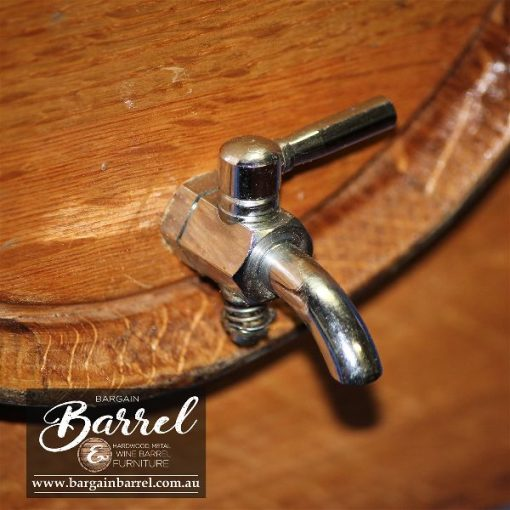 Bargain Barrel Wine Barrel Furniture Sales – Chrome Taps Image 1